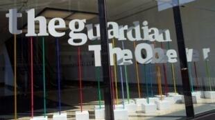 مقر صحيفة الغارديان في العاصمة البريطانية لندن