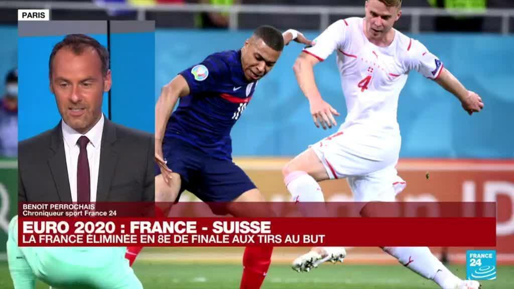 2021-06-29 00:02 Euro 2021: la France éliminée en 8e de finale par la Suisse aux tirs au but