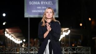Julie de Libran at the Sonia Rykiel Spring-Summer 2019 Ready-to-Wear collection fashion show in Paris last September