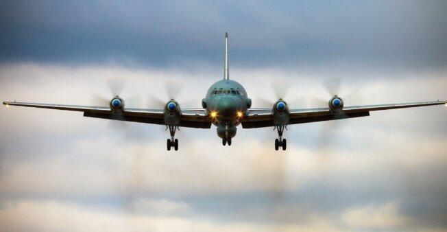 Un Ilyushin Il-20 ruso, el mismo modelo que fue derribado en Siria