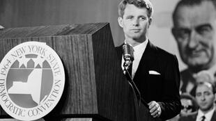 "Robert ""Bobby"" Kennedy, who was US attorney general during his brother John F Kennedy's presidency, was shot and killed in 1968 as he campaigned to become the Democratic nominee for that year's presidential election"