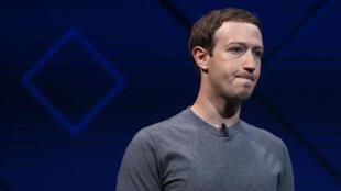 مؤسس موقع فيس بوك مارك زوكربرغ