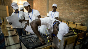 مكتب اقتراع بموساغا جنوب بوجمبورا