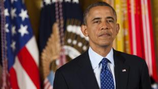 Le président américain Barack Obama (archives).