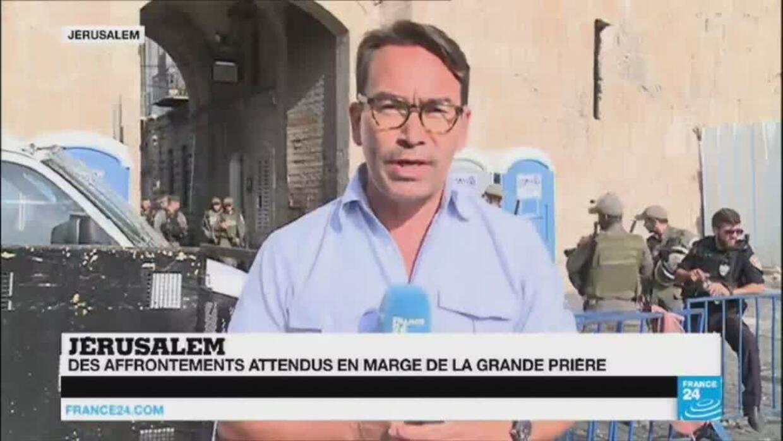 """Esplanade des Mosquées : """"c''est un vendredi de tous les dangers qui s''ouvre"""" à Jérusalem - France 24"""