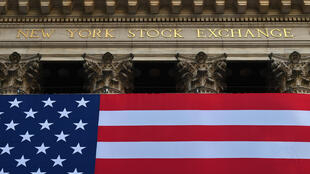 Le New York Stock Exchange (NYSE) à Wall Street (New York), le 16 novembre 2020