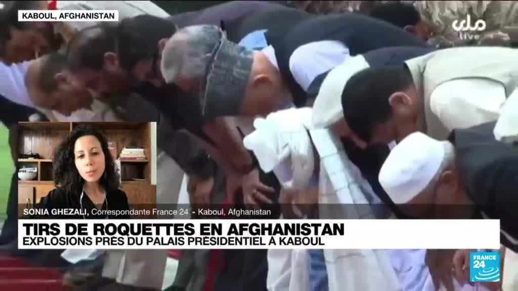 2021-07-20 11:03 Afghanistan : tirs de roquettes près du palais présidentiel à Kaboul