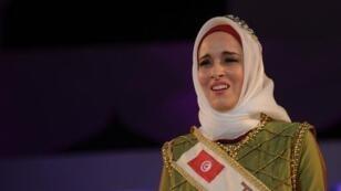 Winner of the 2014 World Muslimah Awards Fatma Ben Guefrache of Tunisia