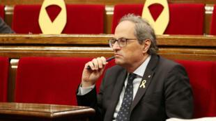 Joaquim Torra, máxima autoridad del Gobierno catalán, ha amenazado al presidente del Gobierno español, Pedro Sánchez, con retirarle su apoyo.