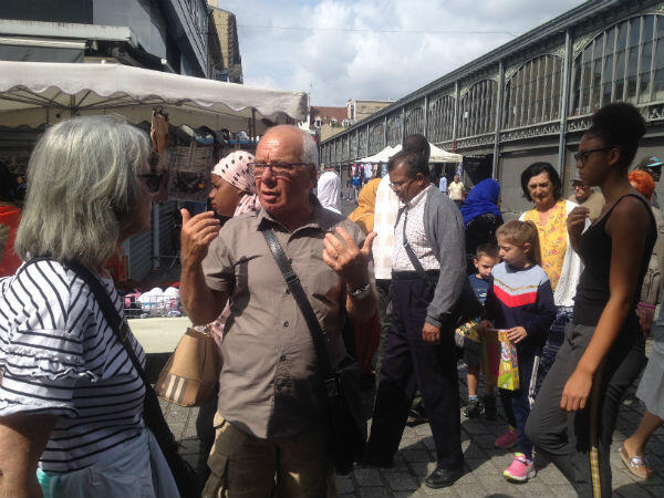 A market in Saint-Denis.