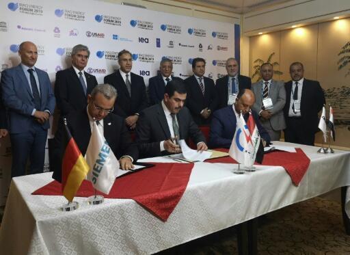 Siemens, Orascom to rebuild vast Iraq power plant