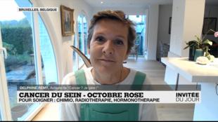 Invitee du jour Delphine Remy