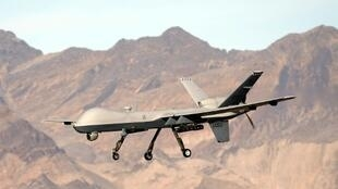 A file picture of the MQ9 Reaper, widely used by the US military for reconnaissance and airstrikes