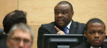 Jean-Pierre Bemba devant les juges de la Cour pénale internationale