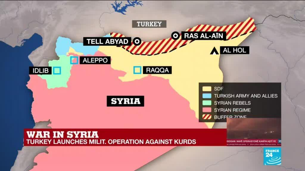 2019-10-09 17:05 War in Syria: Can the Kurdish forces fight back?