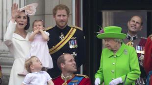 La reine Elizabeth a fêté ses 90 ans lors d'un week-end de festivités à Londres, le 11 juin 2016.