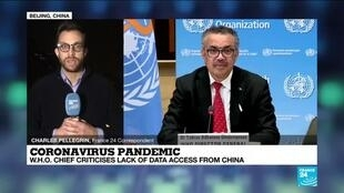 2021-03-30 17:01 Coronavirus pandemic: WHO chief criticises lack of data access from China