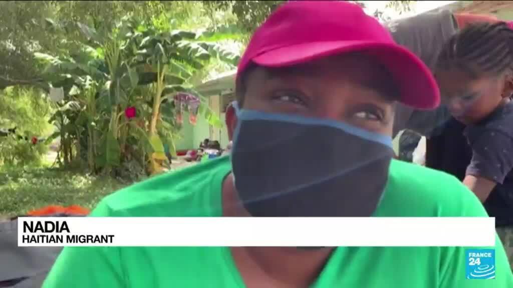2021-09-22 10:06 'We're desperate': Haitian migrants' hopes fade at US border