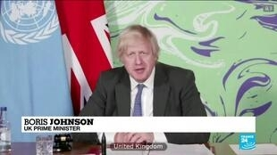 2021-02-24 08:12 Climate change a grave threat to world peace, Johnson tells UN