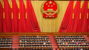 Le Congrès national du parti communiste chinois, le 20 mars 2018.