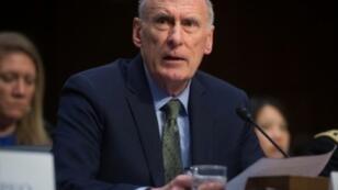 رئيس أجهزة الاستخبارات الأمريكية دان كوتس في صورة التقطت في 13 فبراير 2018 في واشنطن