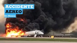 Algunos sobrevivientes y un piloto afirmaron a medios rusos que la aeronave fue alcanzada por un rayo.