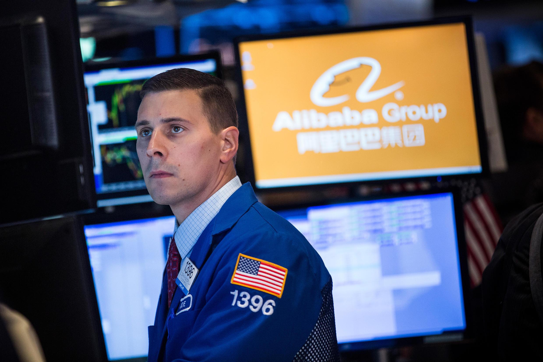 La valeur de l'action Alibaba a bondi de plus de 20 % à l'ouverture de la bourse de New York.