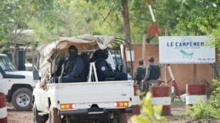 الشرطة المالية تدخل منتجع كانغابا السياحي شرق باماكو غداة هجوم الأحد 18 حزيران/يونيو 2017