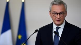 Le ministre de l'Économie Bruno Le Maire à Matignon, le 7 mai 2020