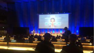 Maison de l'Unesco (Paris), jeudi 6 avril.