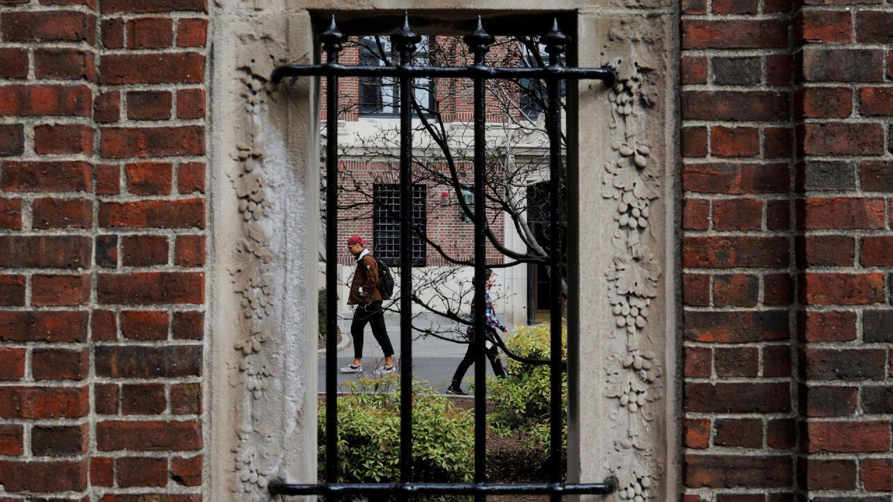 Des étudiants à Harvard. (Image d'archive)