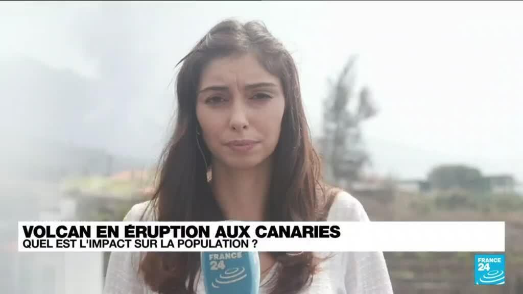 2021-10-01 15:09 Canaries : la lave s'enfonce dans l'océan, craintes sur la qualité de l'air