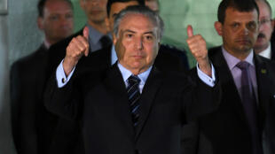 الرئيس البرازيلي ميشال تامر
