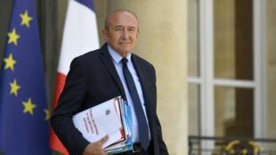 Le ministre de l'Intérieur Gérard Collomb, en juillet 2018.