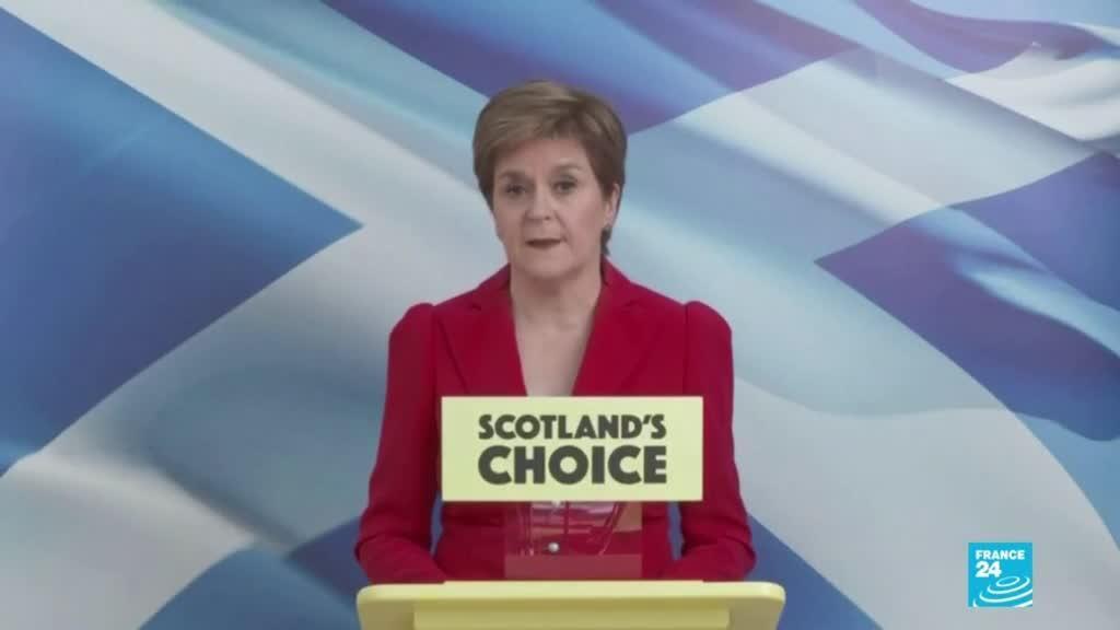 2021-05-09 01:08 Reino Unido: Partido Nacional Escocés ganó sus cuartas elecciones consecutivas del Parlamento