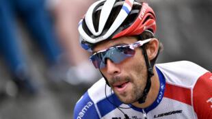 Thibaut Pinot lors de la 9e étape du Tour de France, entre Pau et Laruns, le 6 septembre 2020
