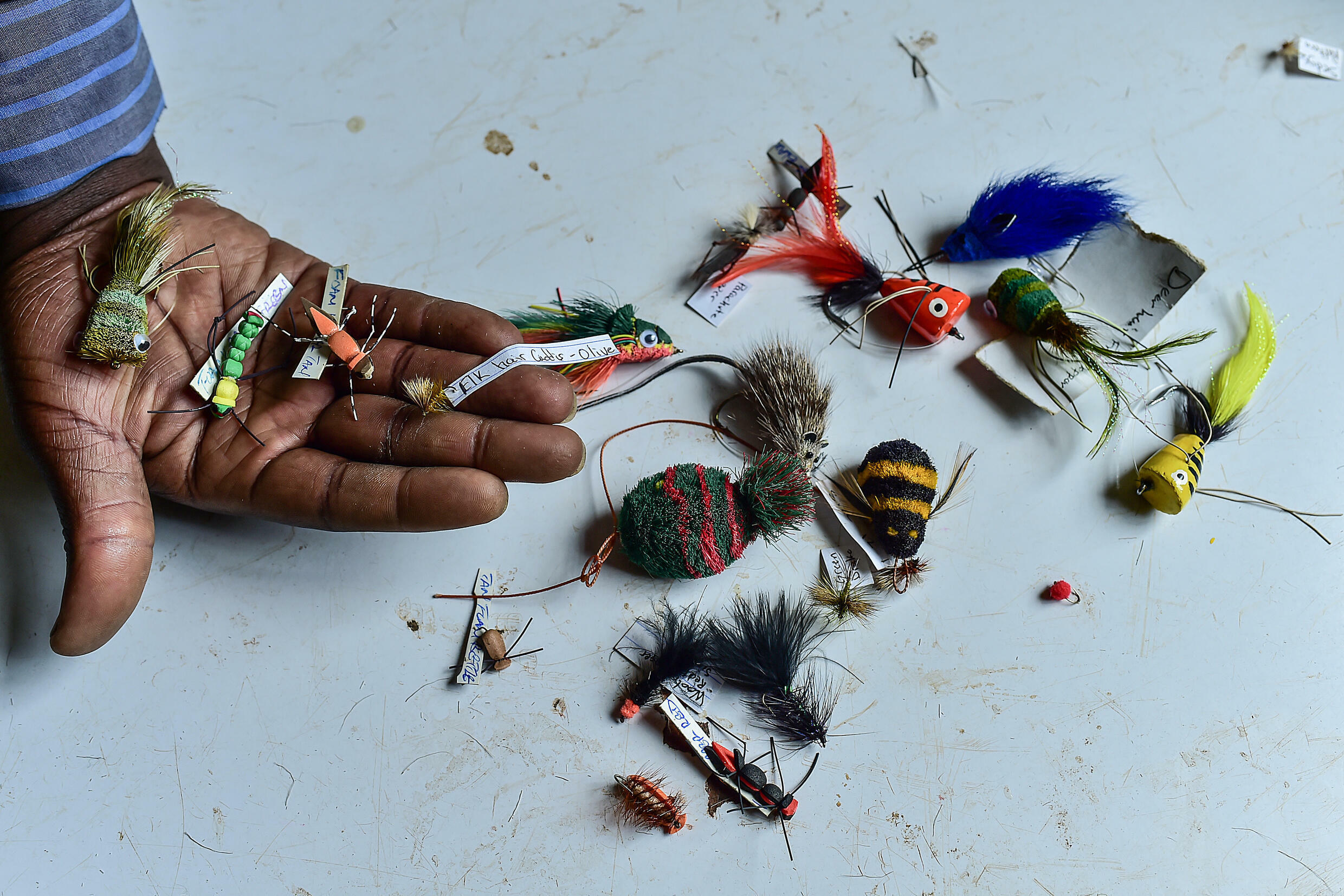 Kenya has a fly fishing industry which for decades supplied fishermen from Norway to New Zealand