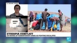 2020-11-17 17:13 'Full-scale' humanitarian crisis unfolding in Ethiopia