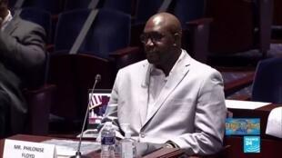 2020-06-11 08:01 Le frère de George Floyd implore le Congrès de réformer la police des États-Unis