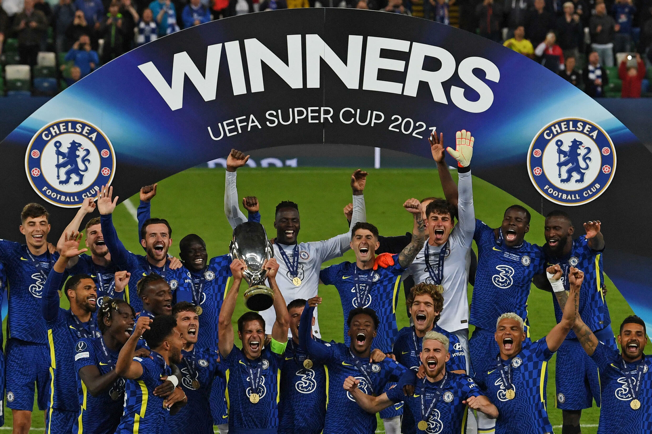 Chelsea supercoupe d'europe