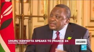2020-10-01 20:40 Exclusive: Kenyan President President Ukuru Kenyatta speaks to France 24