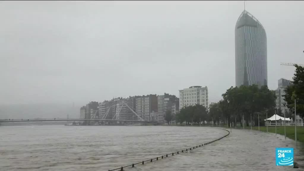2021-07-16 10:05 Intempéries en Belgique : Liège submergée par les eaux