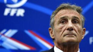 Le sélectionneur du XV de France Guy Novès.