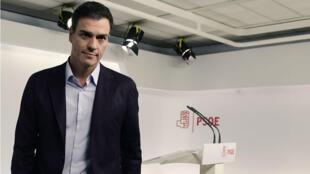 Pedro Sanchez, chef du Parti socialiste espagnol, a démissioné samedi 1er octobre.