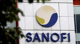 The Sanofi logo displayed at the company's research and production centre in Vitry-sur-Seine, France, on August 6, 2019.