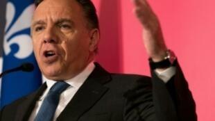 Le millionnaire François Legault, nouveau Premier ministre désigné de la province canadienne de Québec.