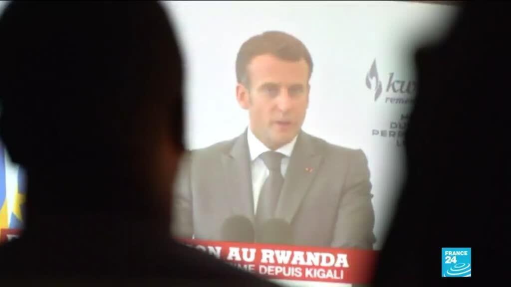 """2021-05-28 10:40 Emmanuel Macron au Rwanda : Paris reconnait sa """"responsabilité accablante"""""""