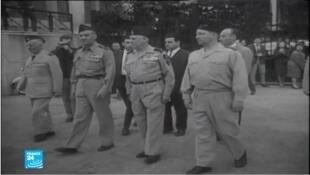 الذكرى الستون لمحاولة انقلاب جنرالات فرنسيين متقاعدين عارضوا استقلال الجزائر.