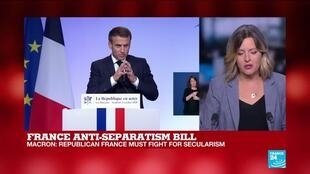 2020-10-02 11:45 Analysis: Macron bill specifically targets Islamic separatism