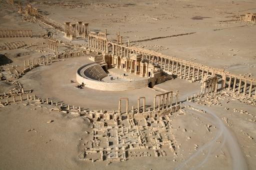 جانب من تدمر الأثرية في 2009